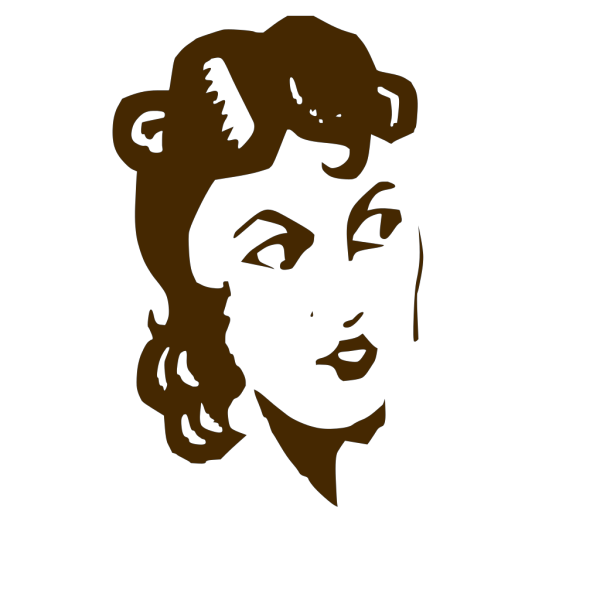 Ladys Face PNG icons