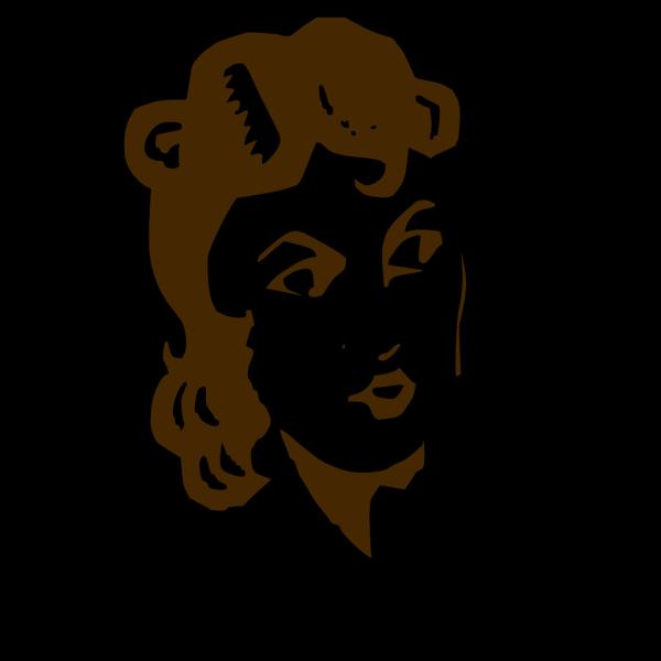 Ladys Face PNG Clip art