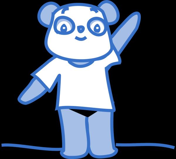 Giant Bad Panda PNG Clip art
