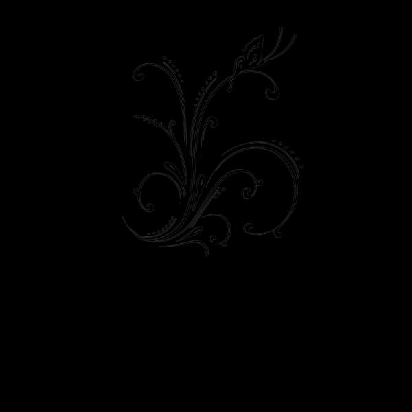 M Black Scroll PNG icons