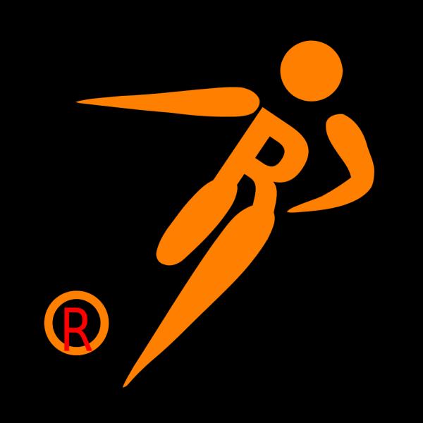 R Monogram PNG Clip art