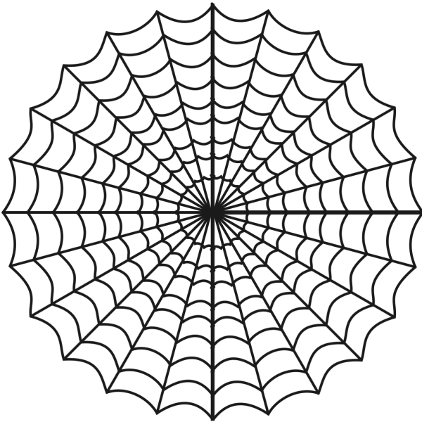 Spider Web Hypnotic PNG icons