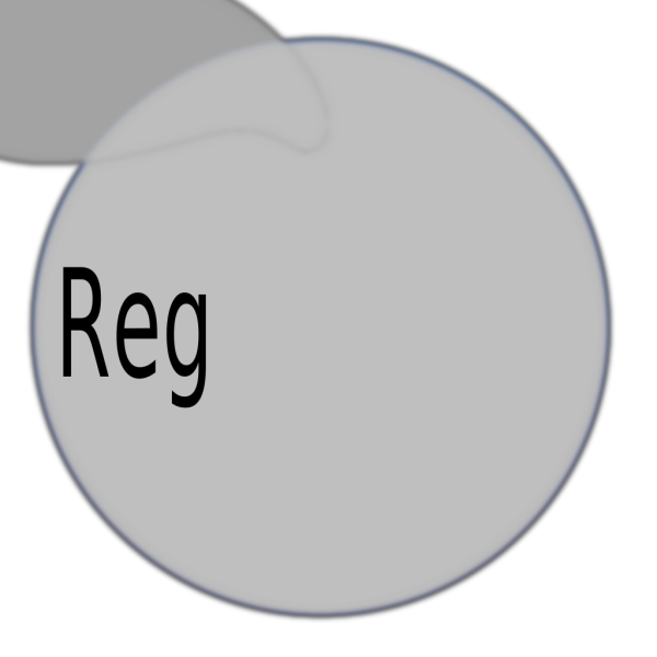 Gray Round Register Button PNG Clip art