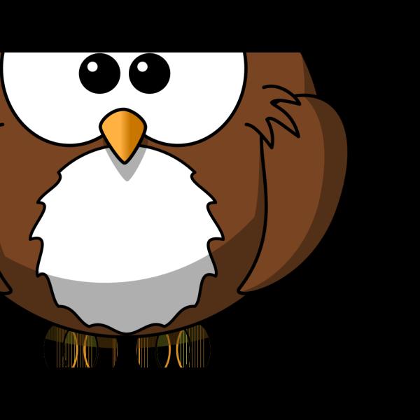 B Owl PNG Clip art