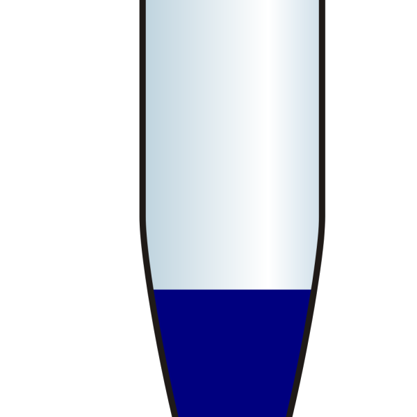 Closed Eppendorf Tube Blue PNG Clip art