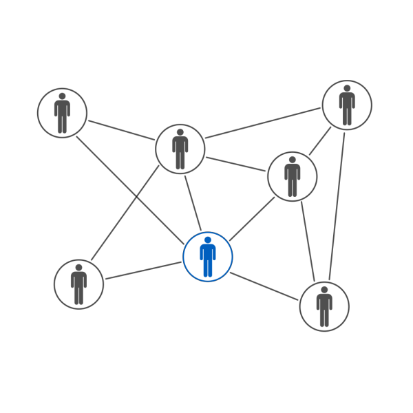 Networking Blue PNG Clip art