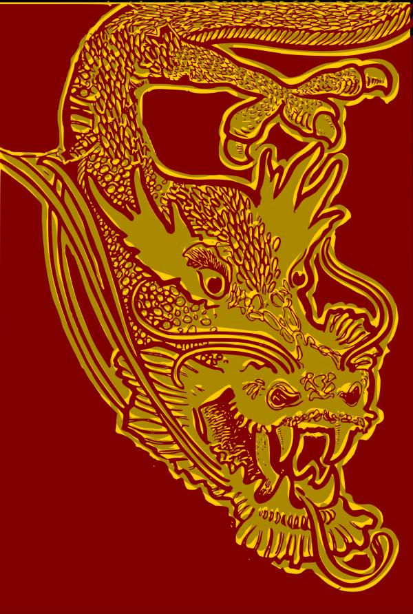 Dragon Sketch PNG Clip art