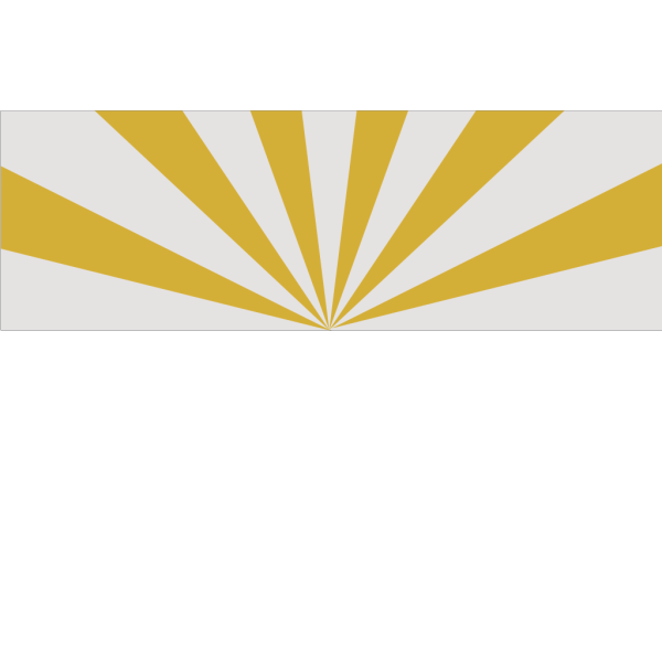 Black And Gold Az Flag PNG Clip art