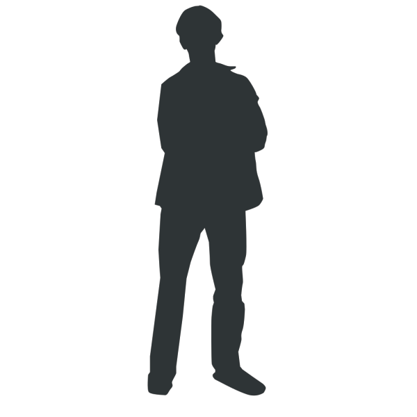 Person Outline PNG Clip art