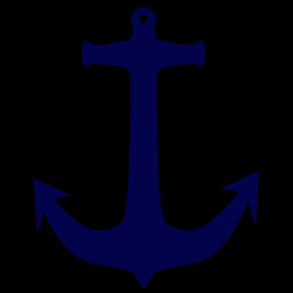 Black Anchor PNG Clip art