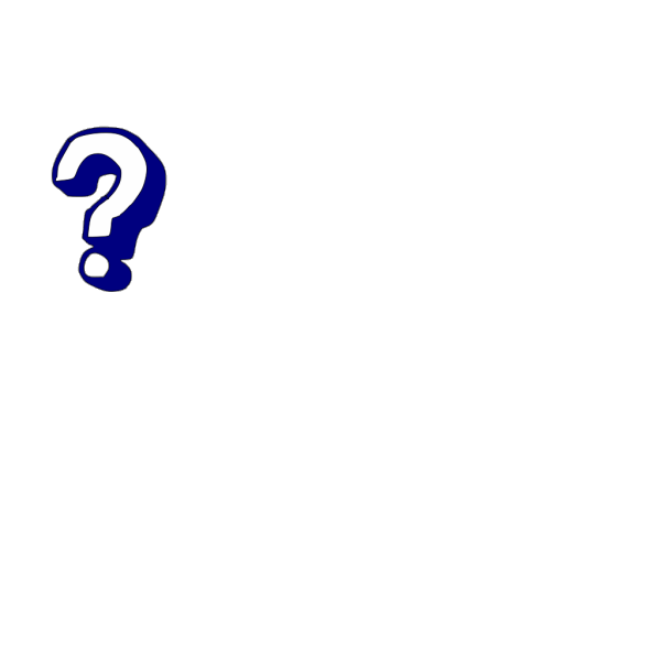 Question Mark Black PNG Clip art