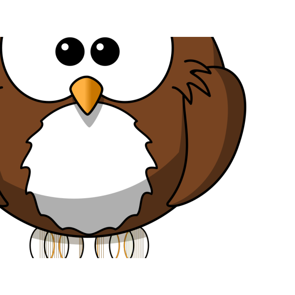 D Owl PNG Clip art