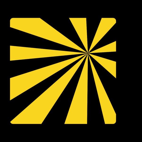 Mod Sun Rays Black PNG Clip art