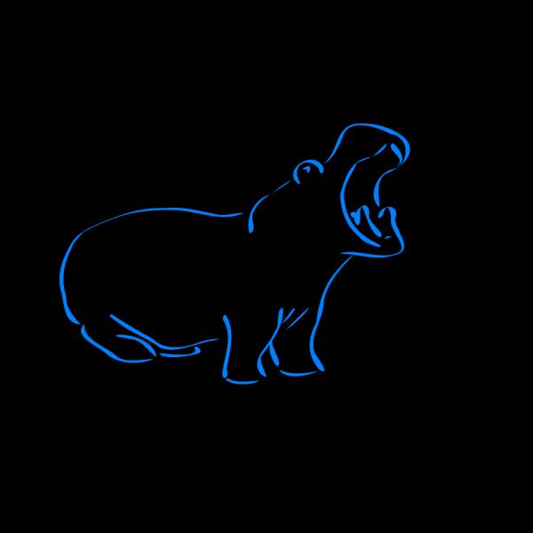 Hippo Sneezing PNG Clip art