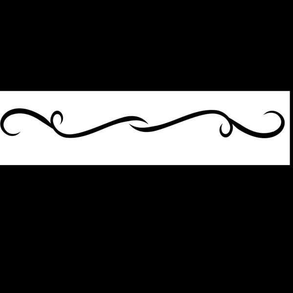 Black Divider PNG Clip art