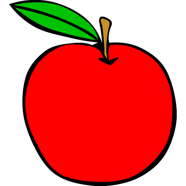 Apple Black PNG Clip art