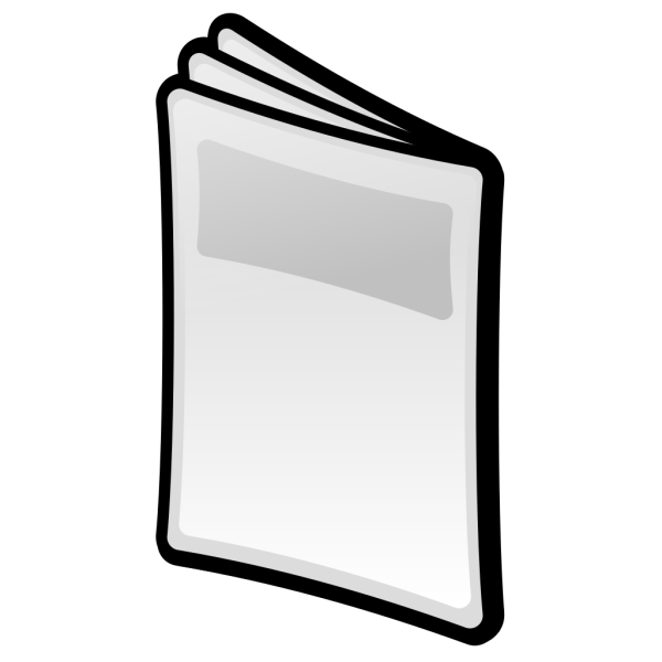 Magazine PNG icons