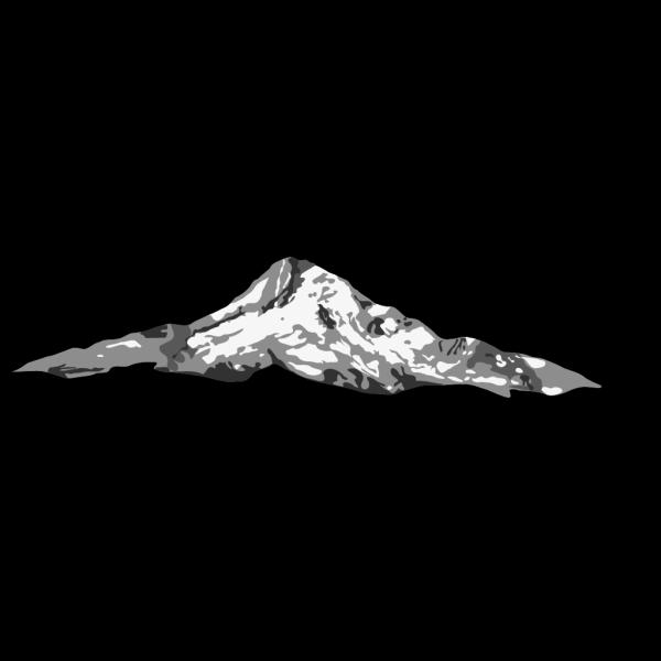 Mt. Rainier PNG Clip art