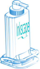 Inkscape Dispenser PNG images