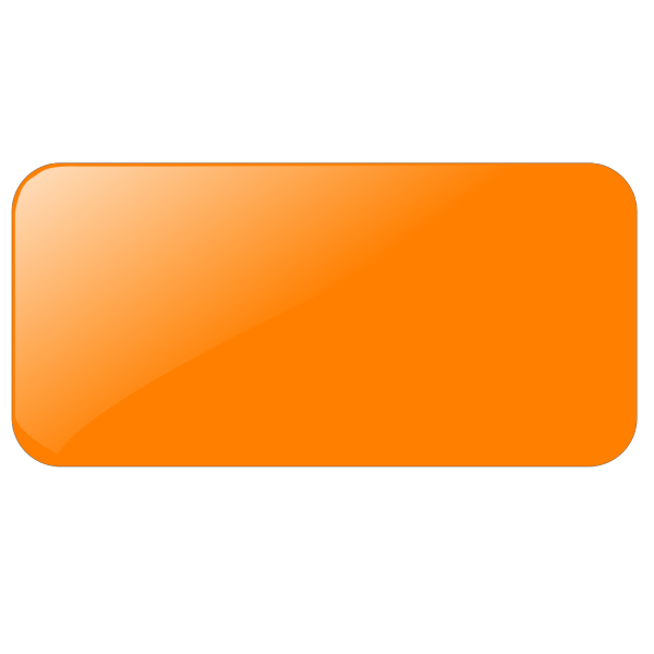 Blank Orange Button