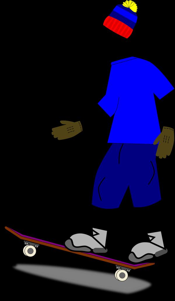Skateboarder PNG Clip art