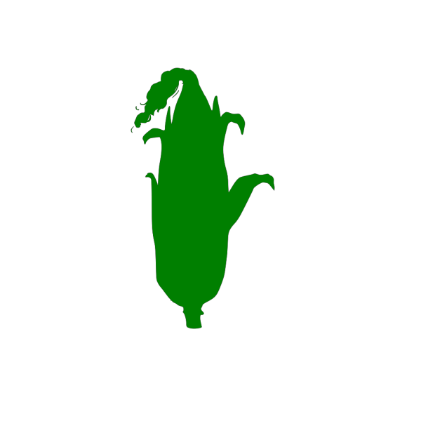 Green Corn Outline PNG images