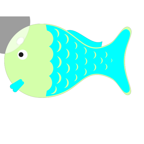Greenbluefish PNG Clip art