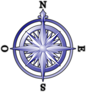 Blue Compass PNG Clip art