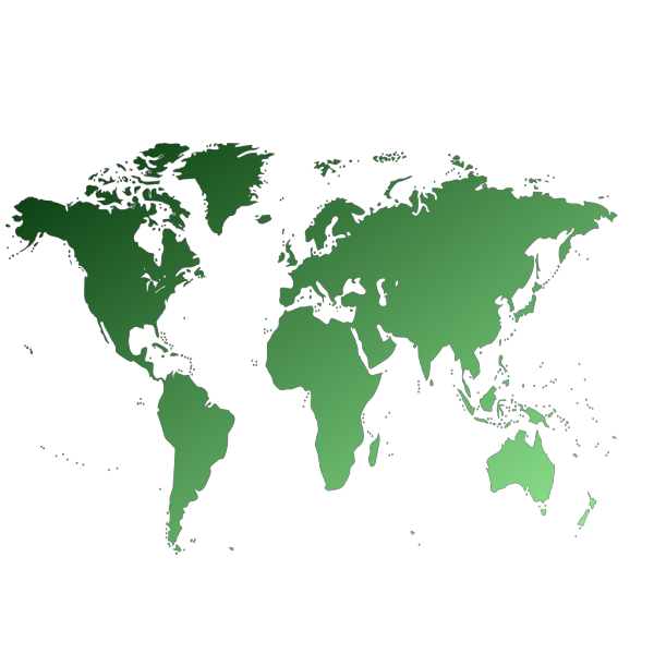 World Map PNG Clip art