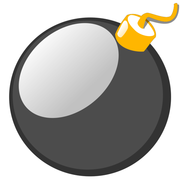 Black Bomb PNG images