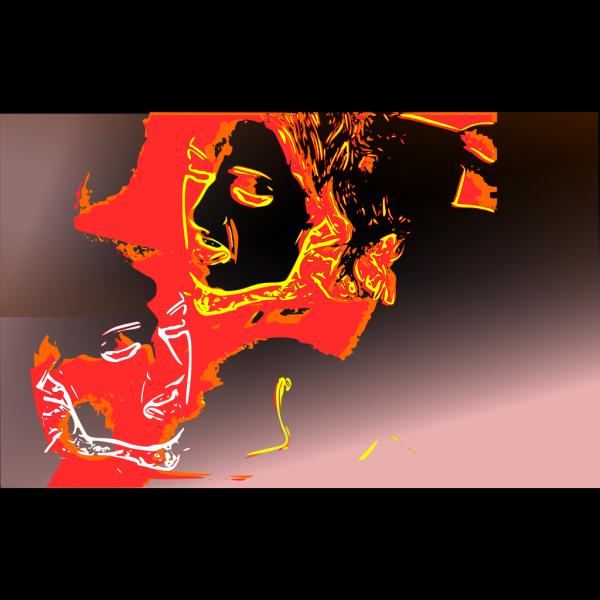 Psychotic Portrait PNG images