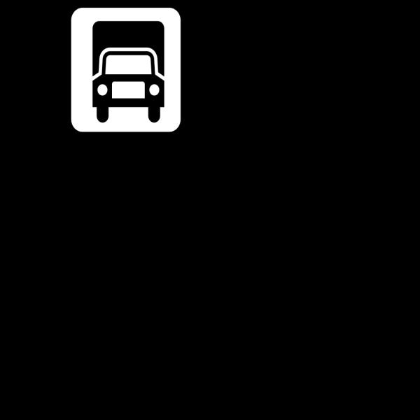 Black Truck PNG Clip art