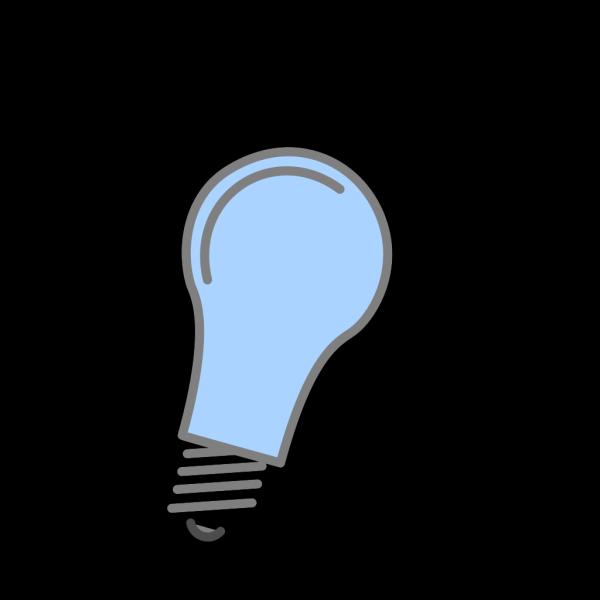 Black Bulb PNG Clip art