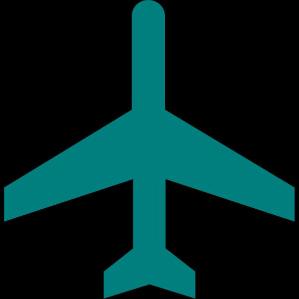 Black Plane PNG Clip art