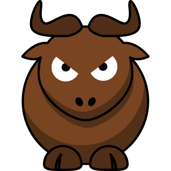 Angry Bull PNG Clip art