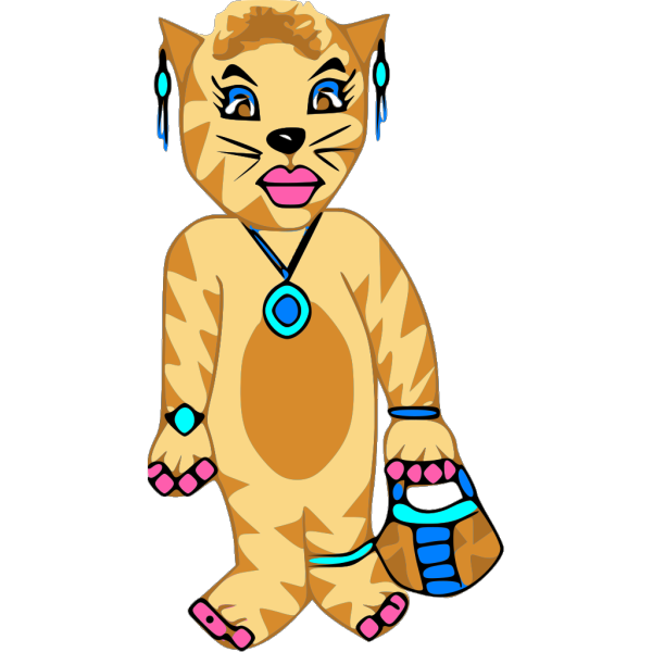 Tiger Costume PNG Clip art