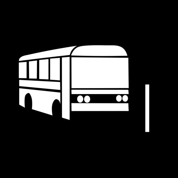 Black Bus PNG Clip art