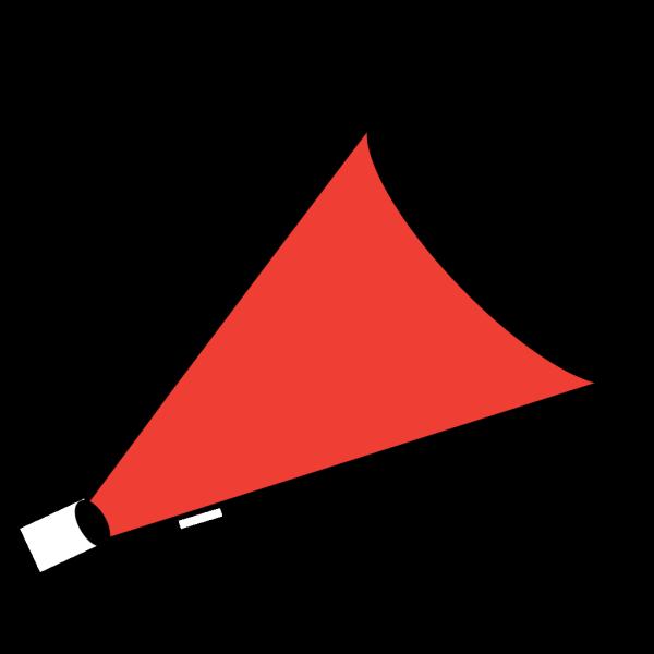 Megaphone Red PNG Clip art