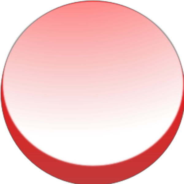 Round Red Button PNG icons