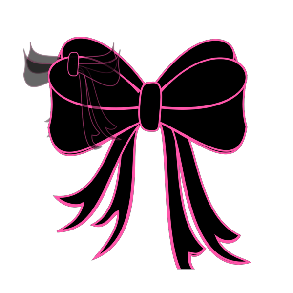 Black Bow And Arrow PNG Clip art