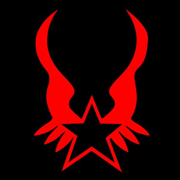 Black Throwing Star PNG Clip art