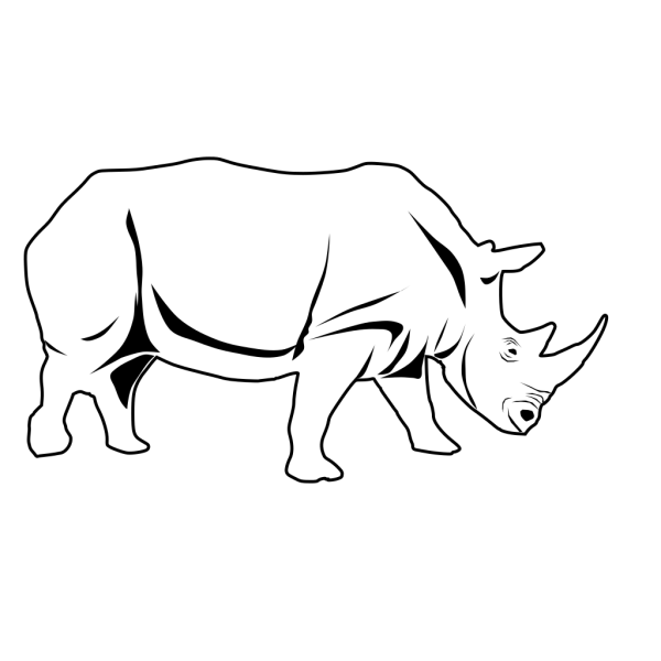 Rhino PNG Clip art