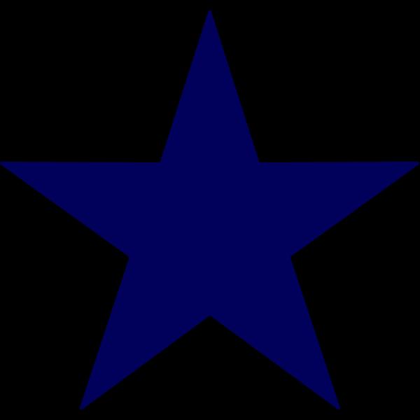 Dark Blue Starfish PNG Clip art