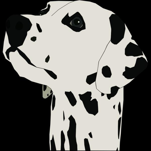 Pes Dalmatin PNG Clip art