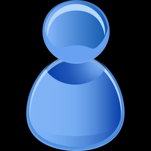 User Symbol Blue PNG Clip art