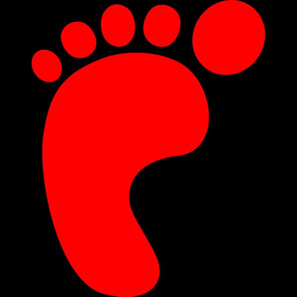 Left Foot Print PNG Clip art