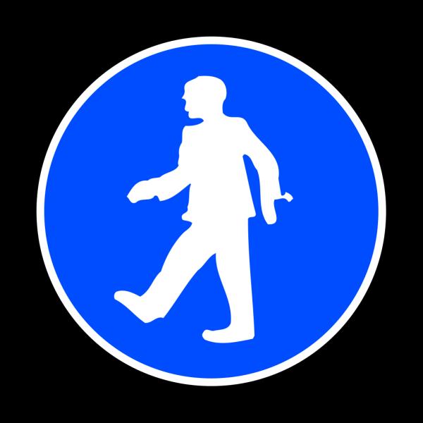 Mandatory Walking PNG Clip art