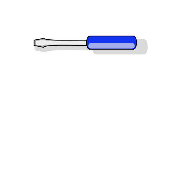Screwdriver 8 PNG Clip art