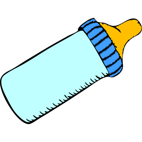 Baby Bottle 2 PNG Clip art