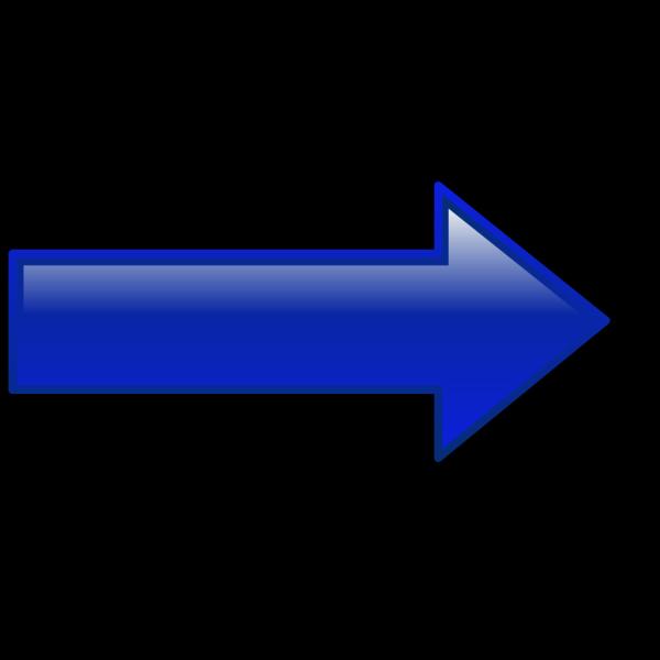 Arrow-right-blue PNG Clip art